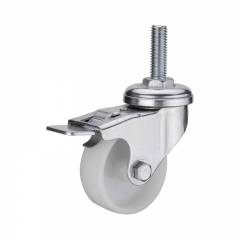 2 Caster Wheels With Bearings