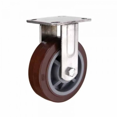 Heavy Duty Polyurethane Wheel Stainless