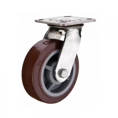 Polyurethane Wheels Heavy Duty Caster