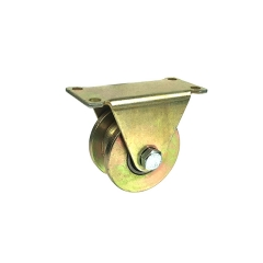 WBD wholesale 2inch cast iron h groove caster wheels