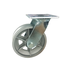 WBD wholesale 6inch swivel heavy duty v groove wheels