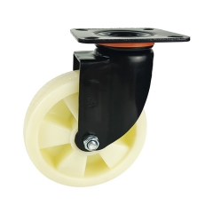 Medium-heavy duty pp swivel caster