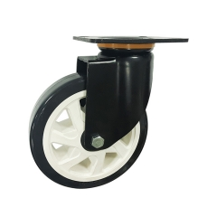 Medium-heavy duty pu swivel caster