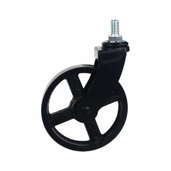 silent square stem swivel caster wheel