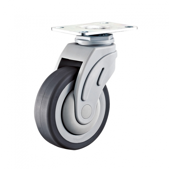 Threaded Stem Swivel Medical Caster Wheel