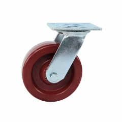 High heat resistant swivel caster wheels