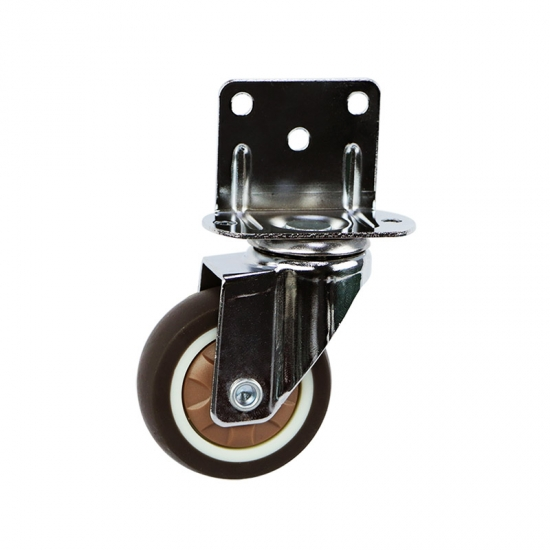 Light duty L board TPR caster wheel